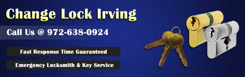 Change Lock Irving Banner